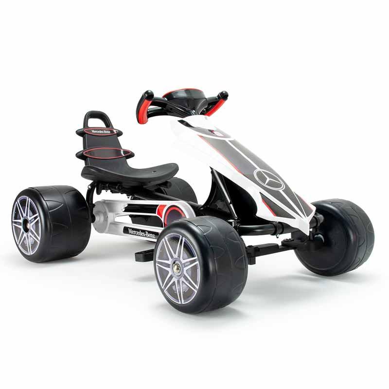 Kart Go Flecha Grande A Pedales Mercedes