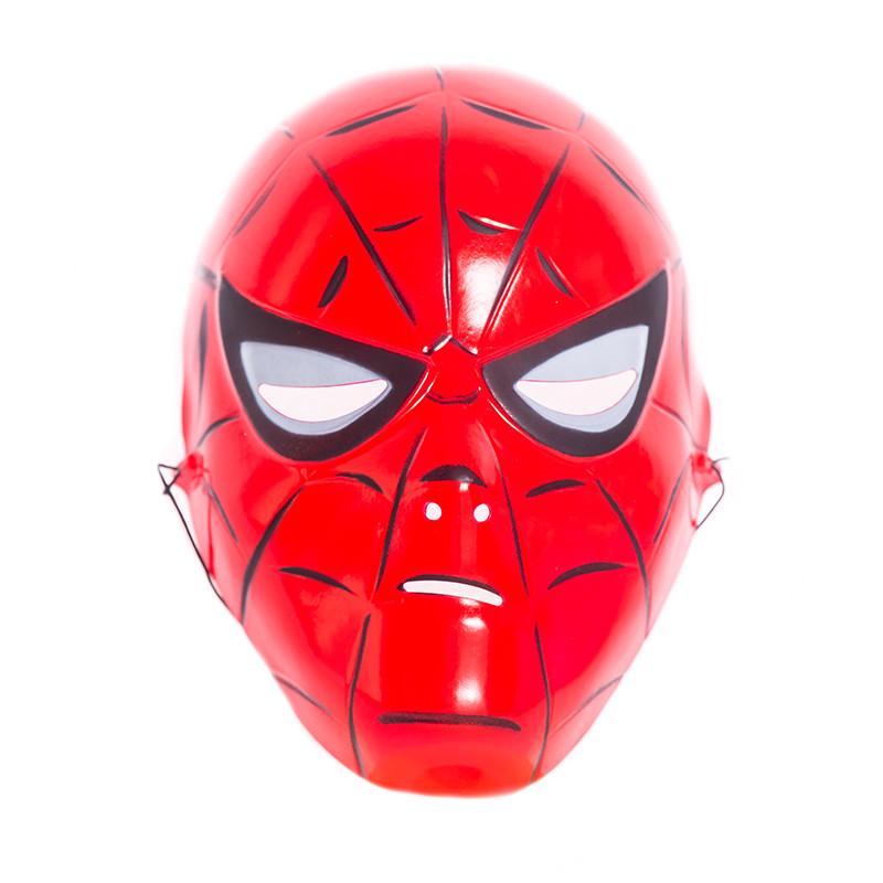 Máscara Infantil Spiderman plástico