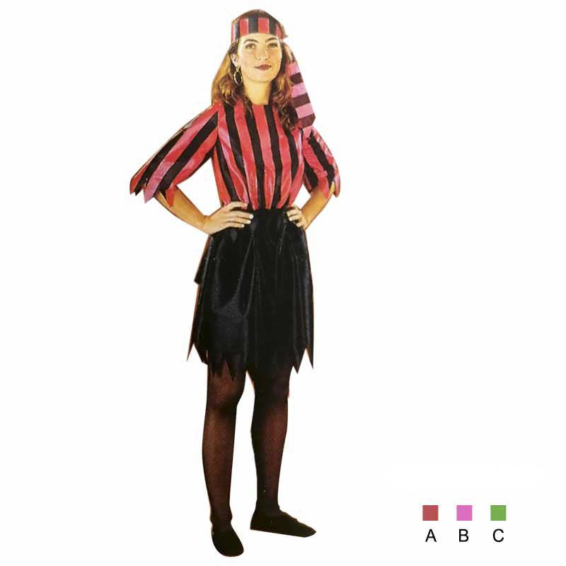 Disfraz Mujer Pirata Adulto T/U
