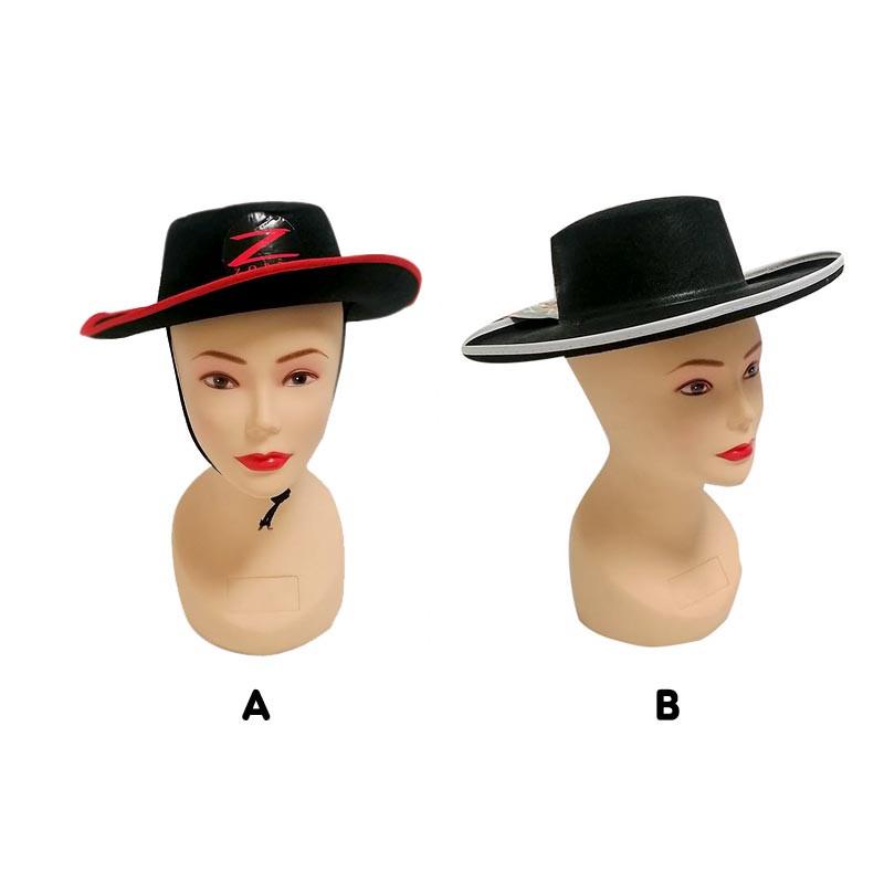 Sombrero Zorro para adulto