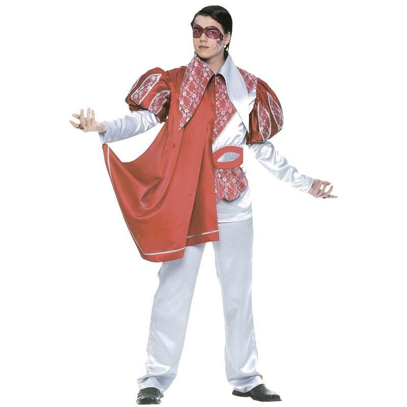 Disfraz Venecia Plata Adulto