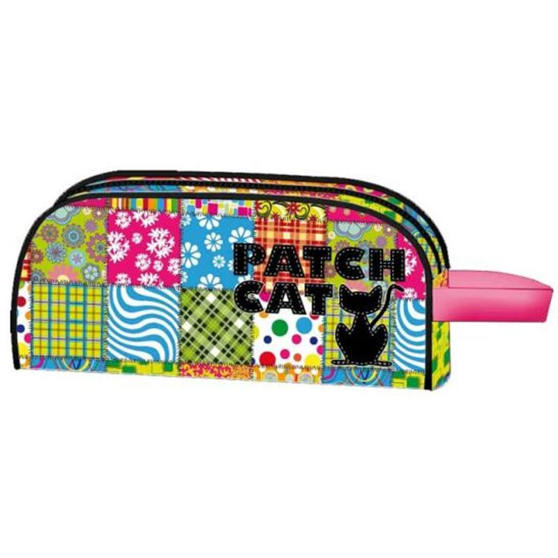Estuche Neceser Patch Cat Dark