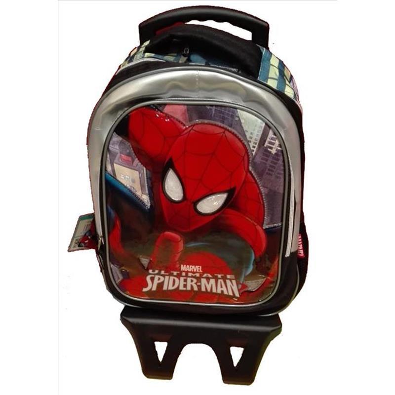 Spiderman Mochila C/Ruedas Desmontb*
