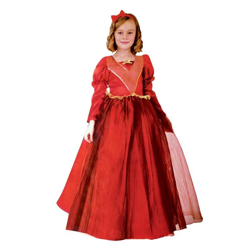 Disfraz Reina Roja Inf