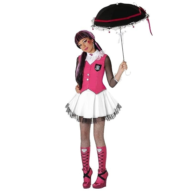 Disfraz Monster High Draculaura con peluca