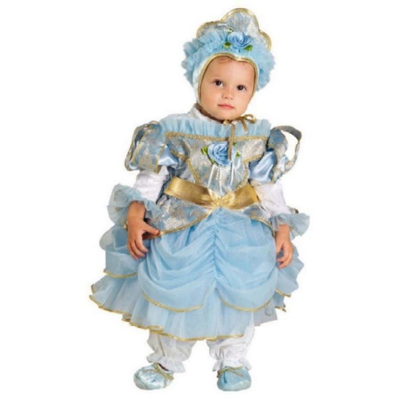 Disfraz Princesa azul bebé