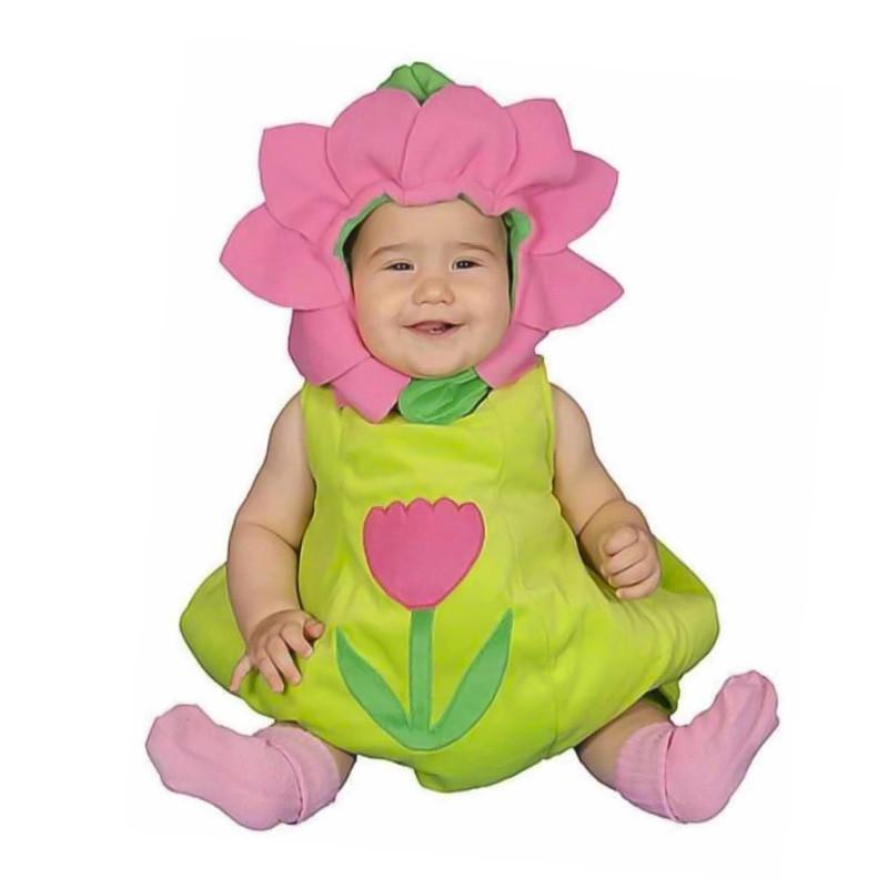 Disfraz Flor Tulipán bebé