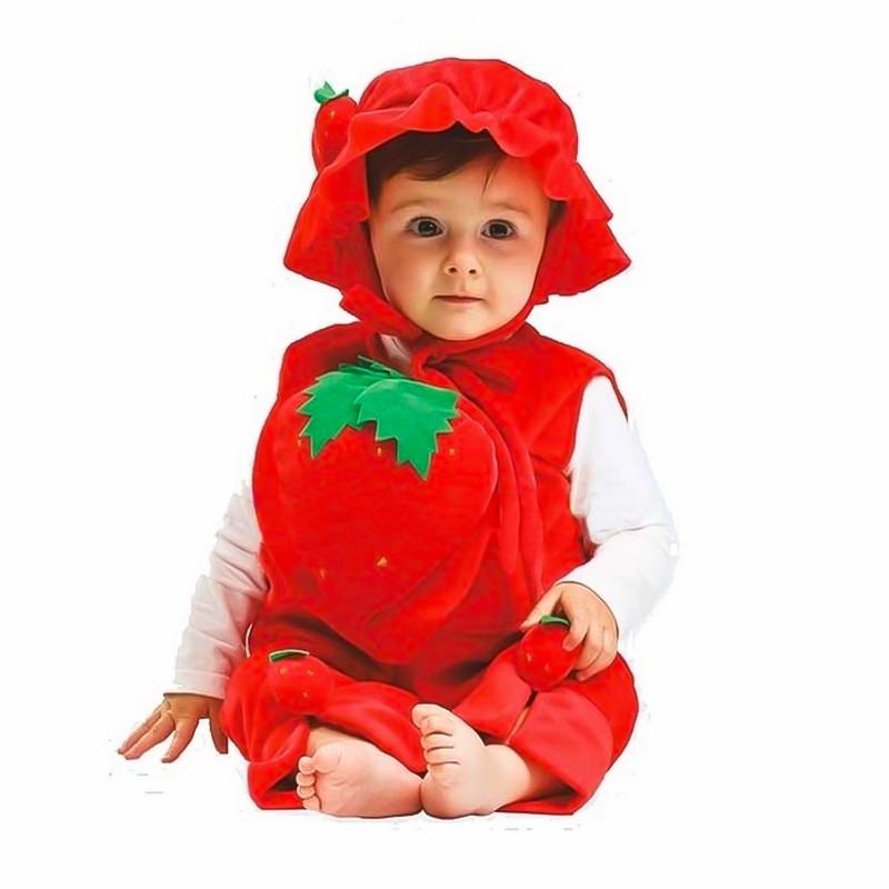 Disfraz Fresa bebé