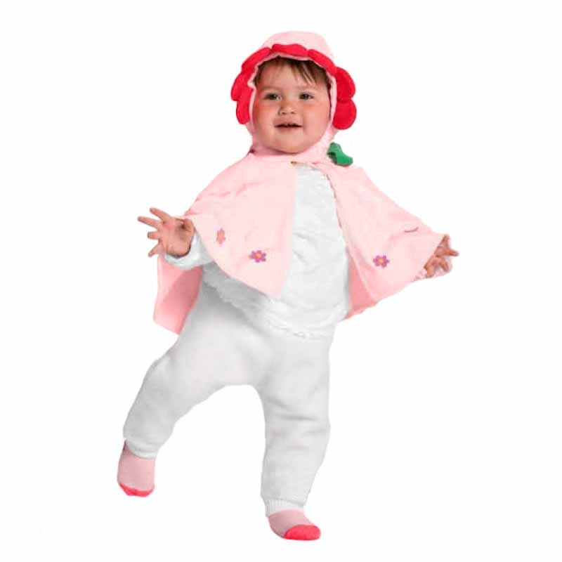 Disfraz capa Flor bebe Josman
