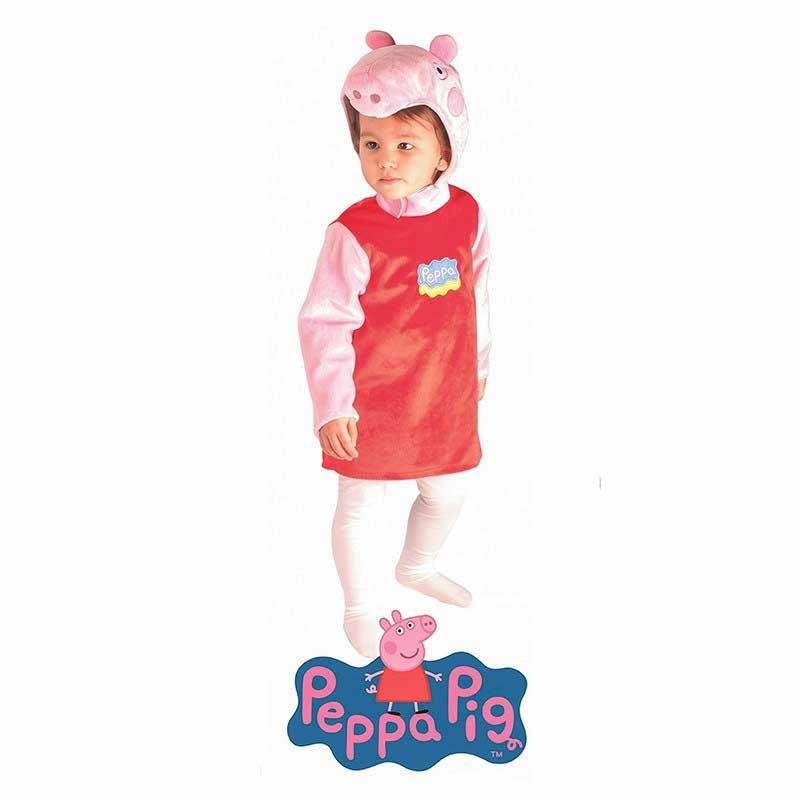 Disfraz Carnaval Peppa Pig Bebé - en bolsa