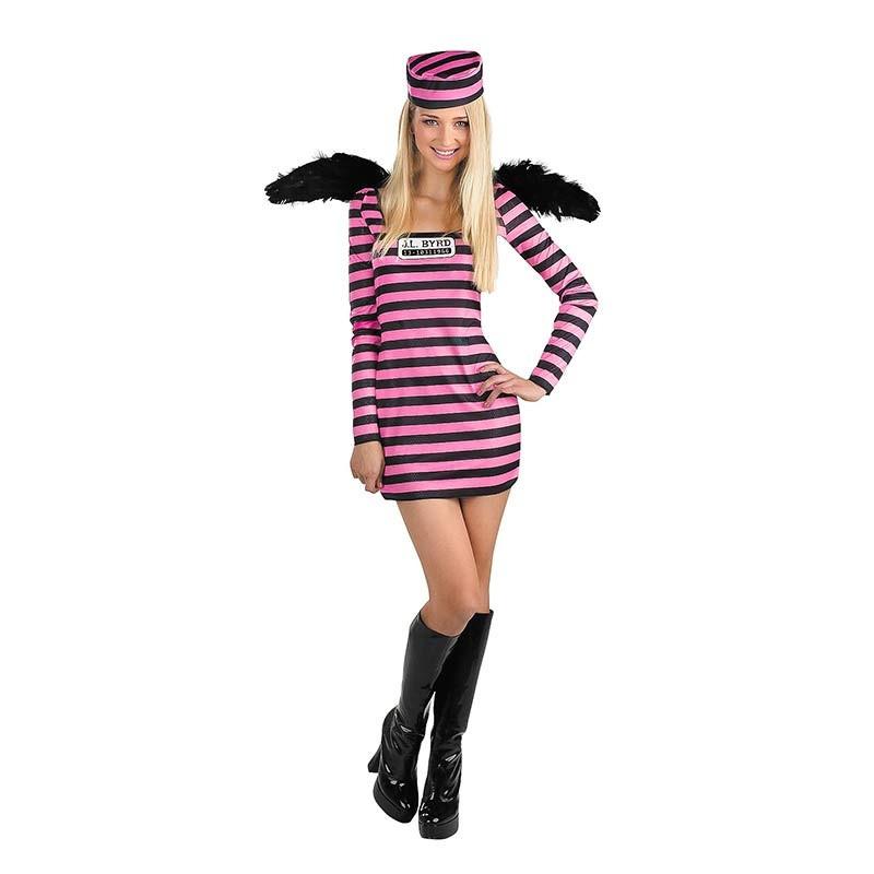 Disfraz de Prisionera con alas Ad
