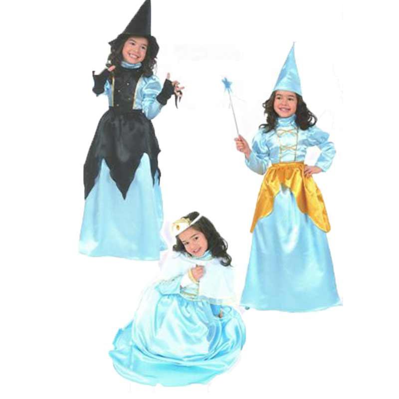 Disfraz de Hada, Princesa y Bruja Infantil Hallowe