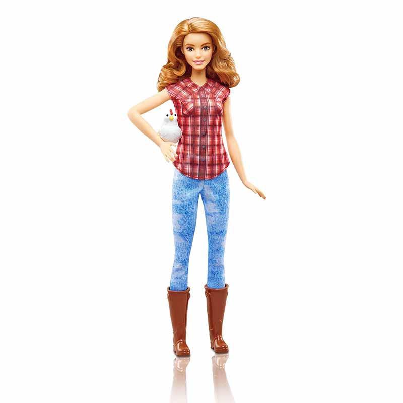 Barbie posso ser Agricultora
