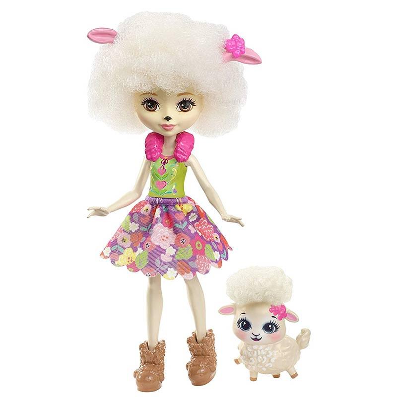 Enchantimals Muñeca con mascota Lorna Lamb