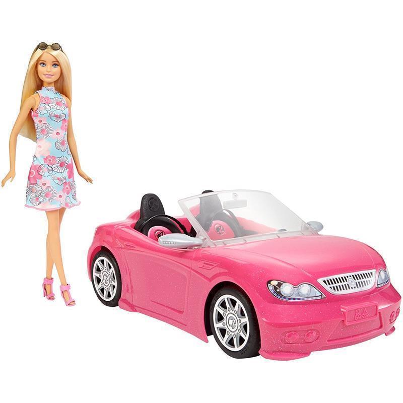Barbie y su vehículo