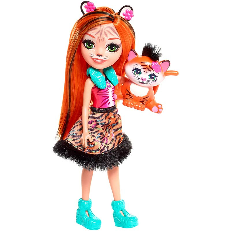Enchantimals TANZIE Tiger y Tuft