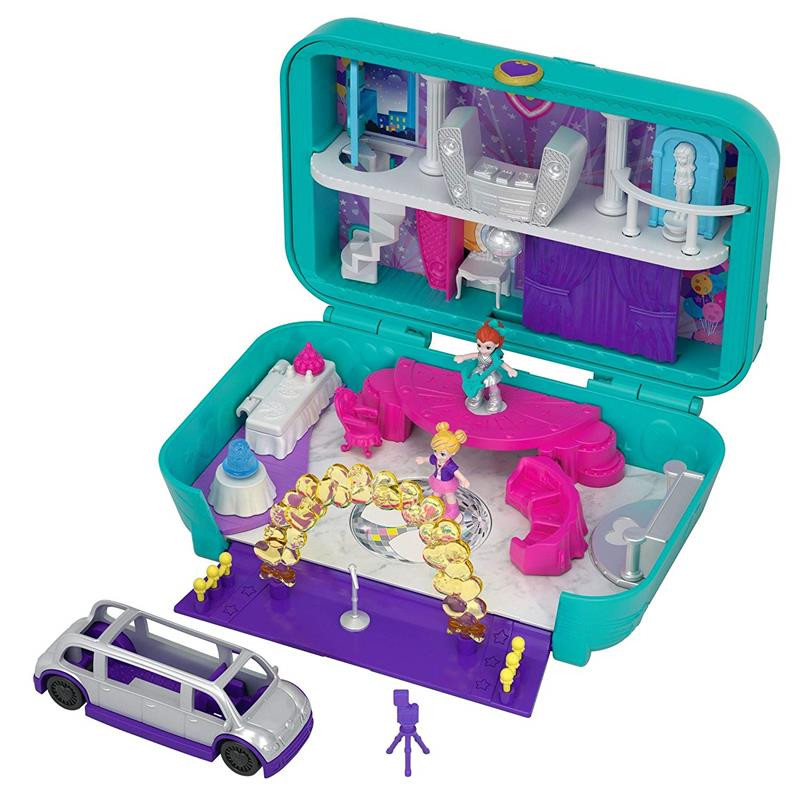 Polly Pocket maletín fiesta divertida