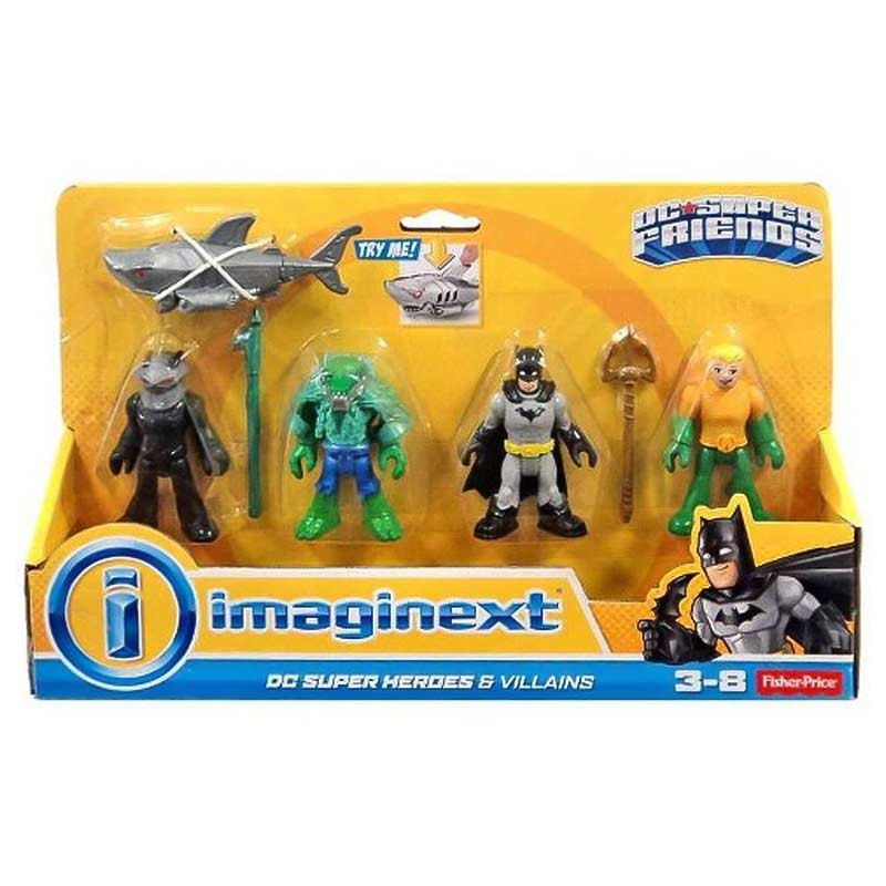 Imaginext Superhérores y villanos DC