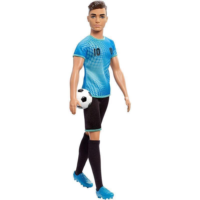 Barbie Ken yo quiero ser Futbolista