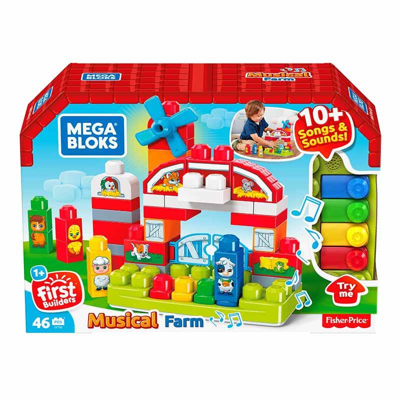 Mega Bloks granja musical