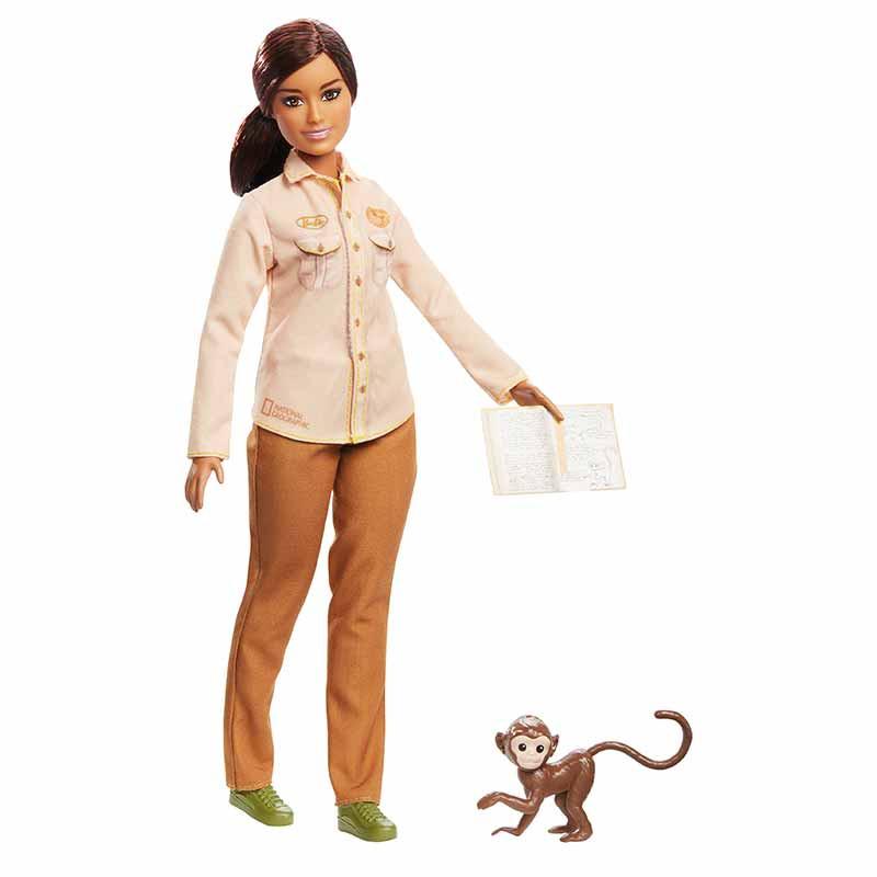 Barbie conservadora de la naturaleza