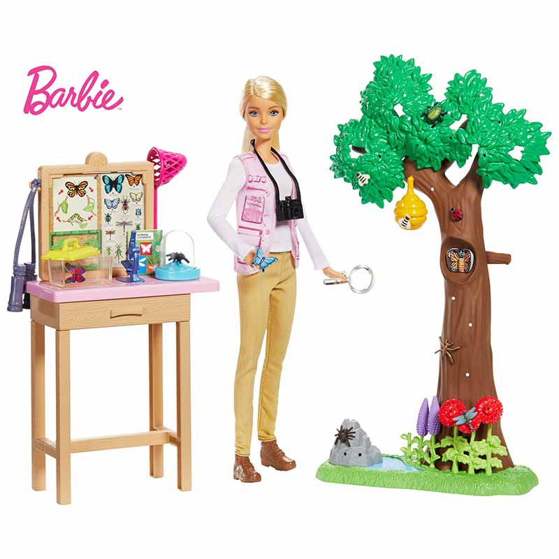 Barbie ecologista playset