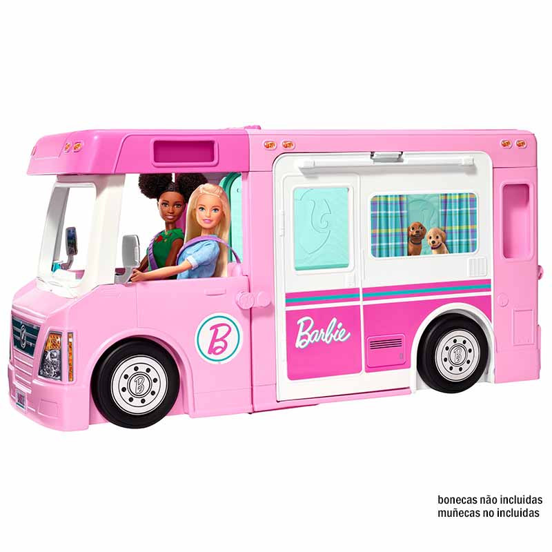 Barbie autocaravana de sueño 3 en 1