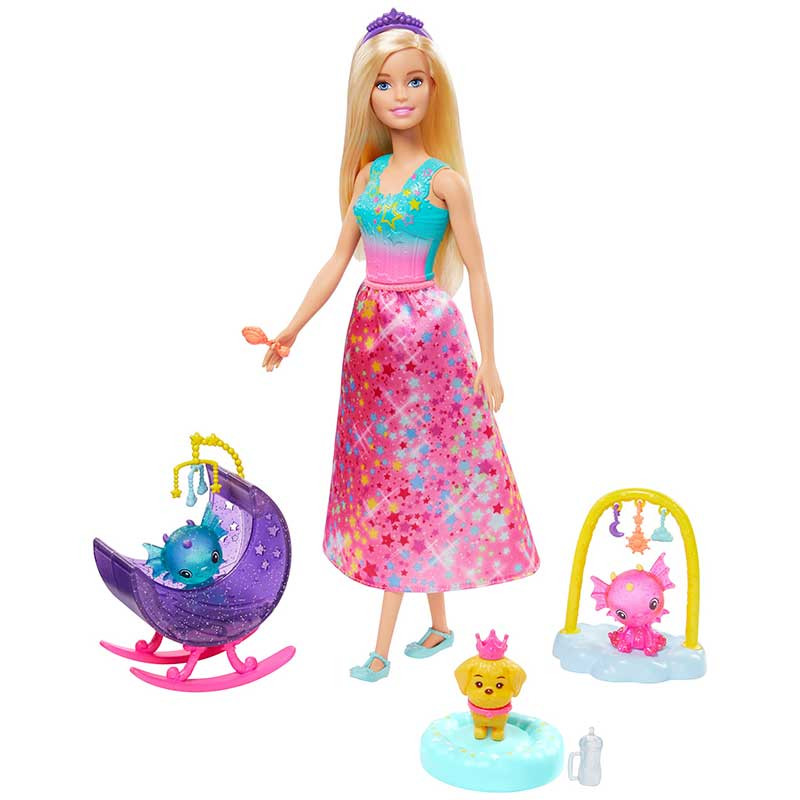 Barbie Dreamtopia Ama de Dragões