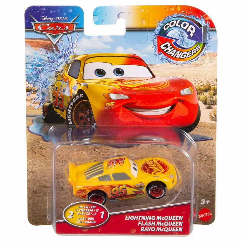 Cars Color Changers Fall - Rayo McQueen