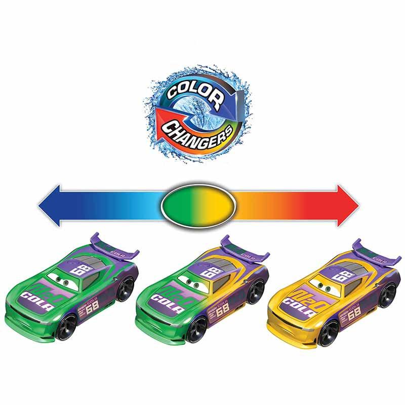 Cars vehículo cambio de color
