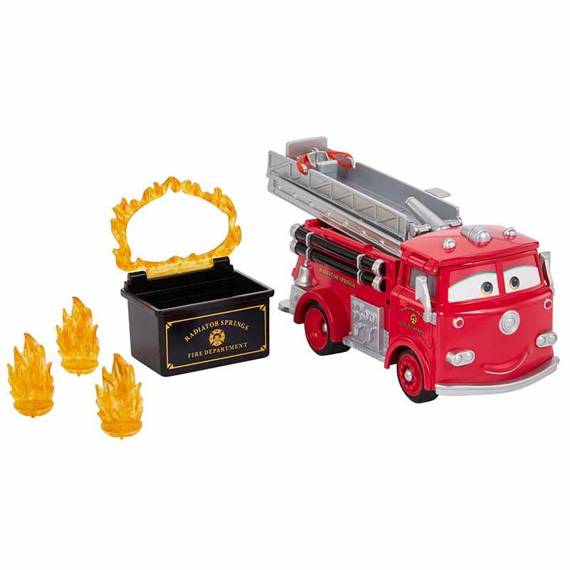 Cars Red Súper Camión de Bomberos