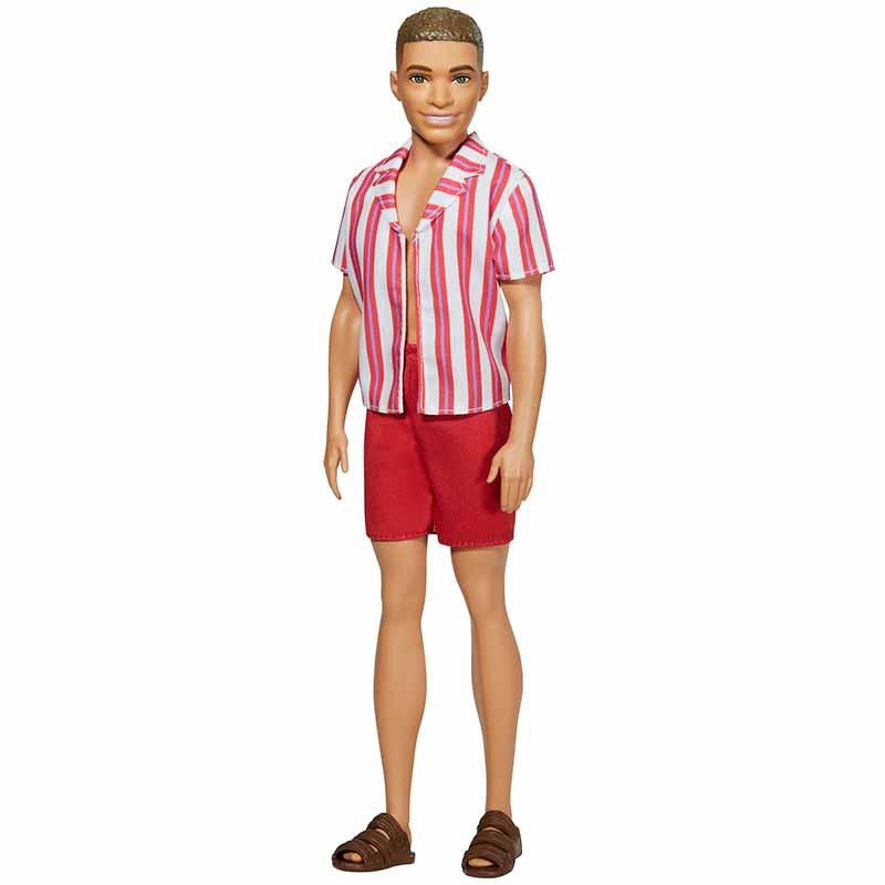 Barbie Ken 60 Aniversario con bañador y camisa