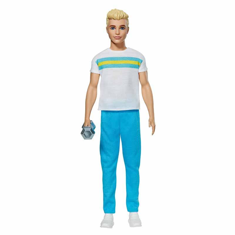 Barbie Ken 60 Aniversario rubio moda deportiva