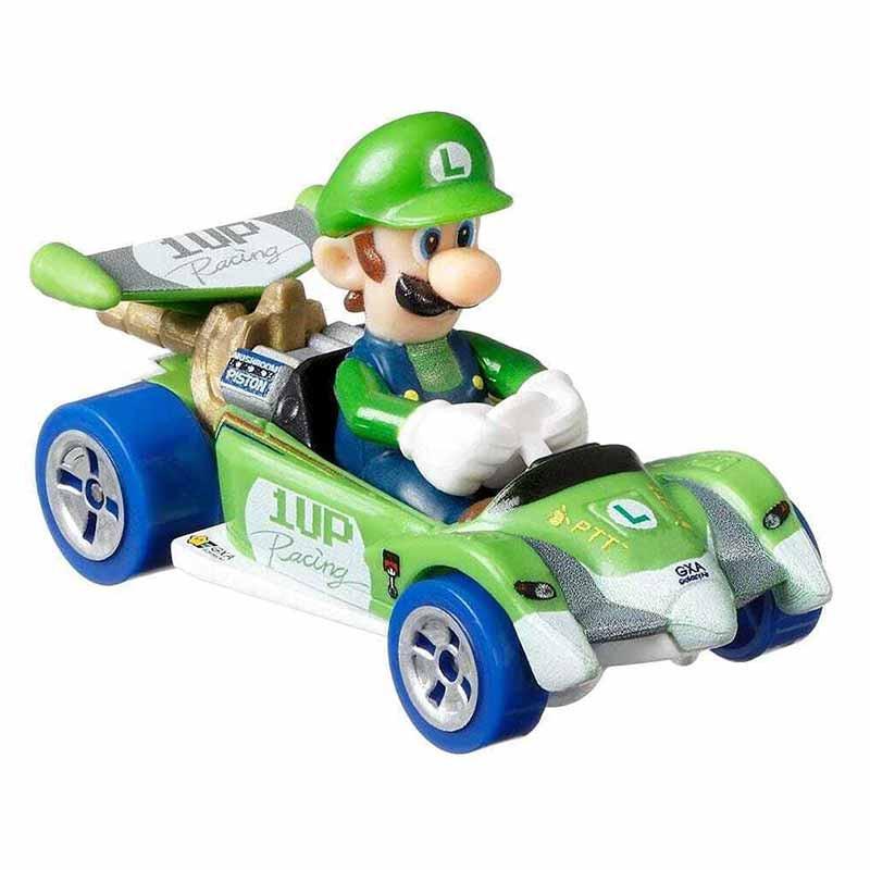 Hot WHeels coche Luigi Circuito Especial