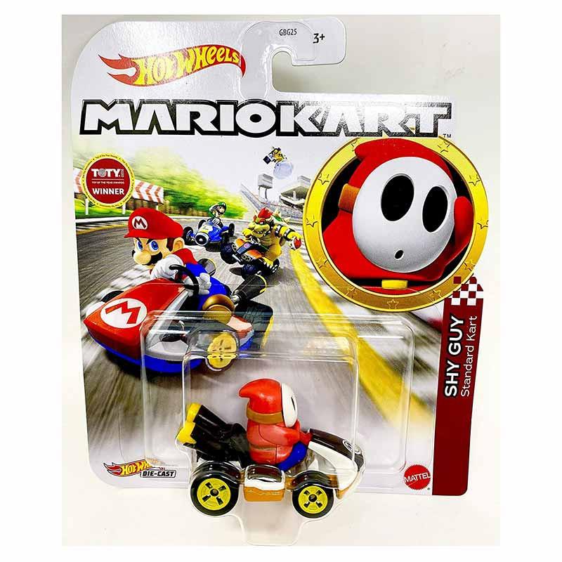 Hot WHeels coche Mario Kart Shy Guy