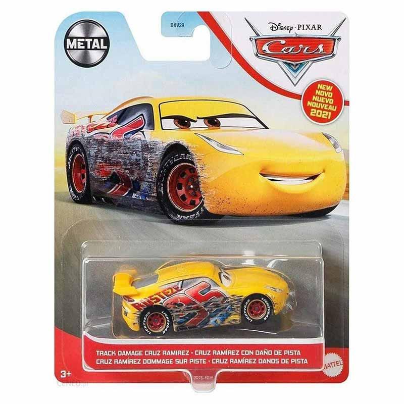 Disney Pixar Cars 3 Cruz Ramirez daño pista