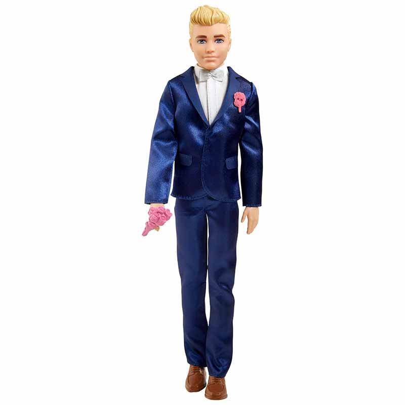 Barbie Ken Novio con accesorios para boda