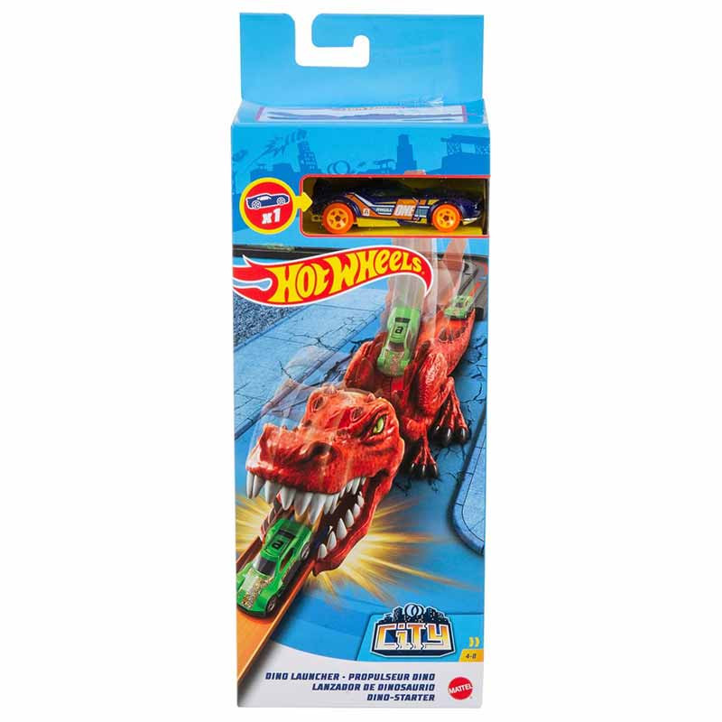 Hot Wheels lanzador Némesis Dino