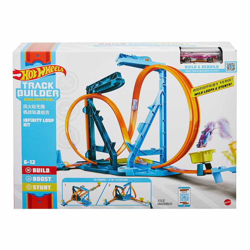 Hot Wheels Pack looping infinitos