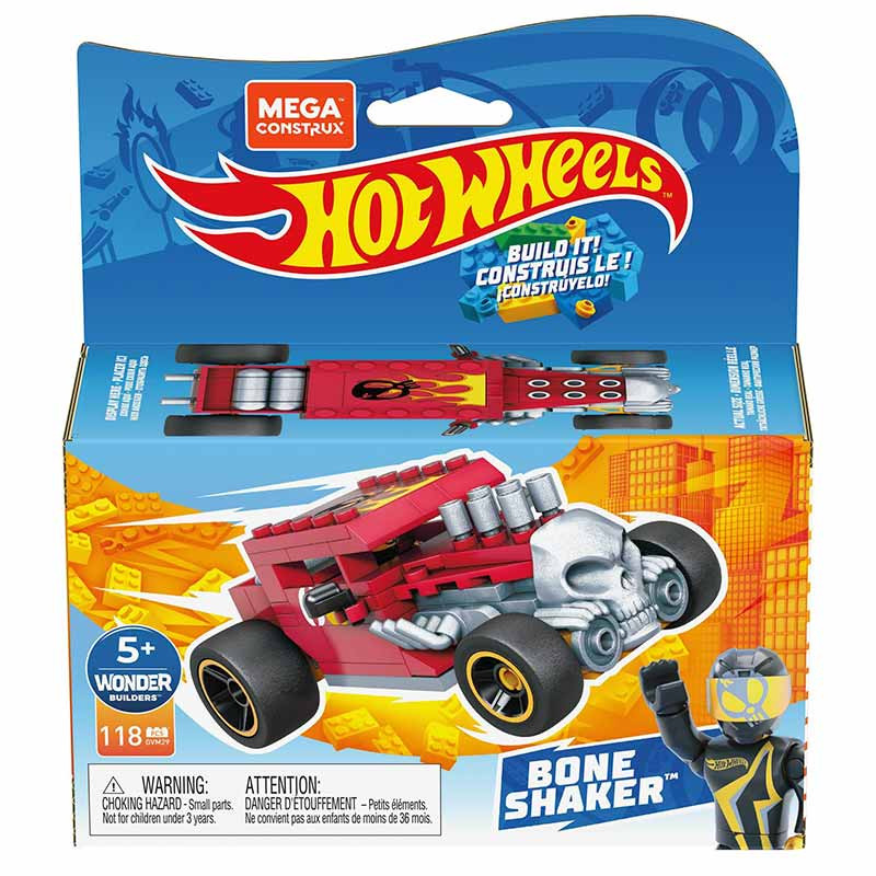 Mega Bloks Construx coche de carreras Bone Sha