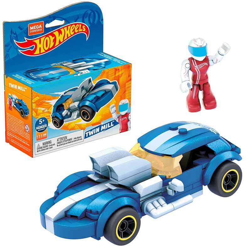Mega Bloks Contrux coche de carreras Twin Mil