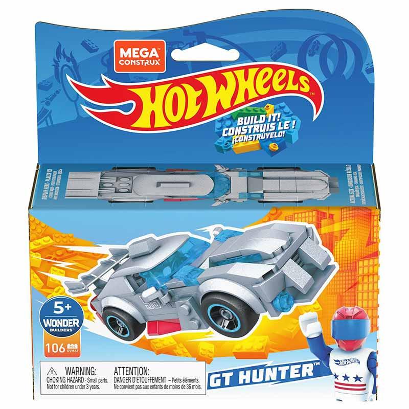 Mega Bloks Contrux coche de carreras GT Hunte