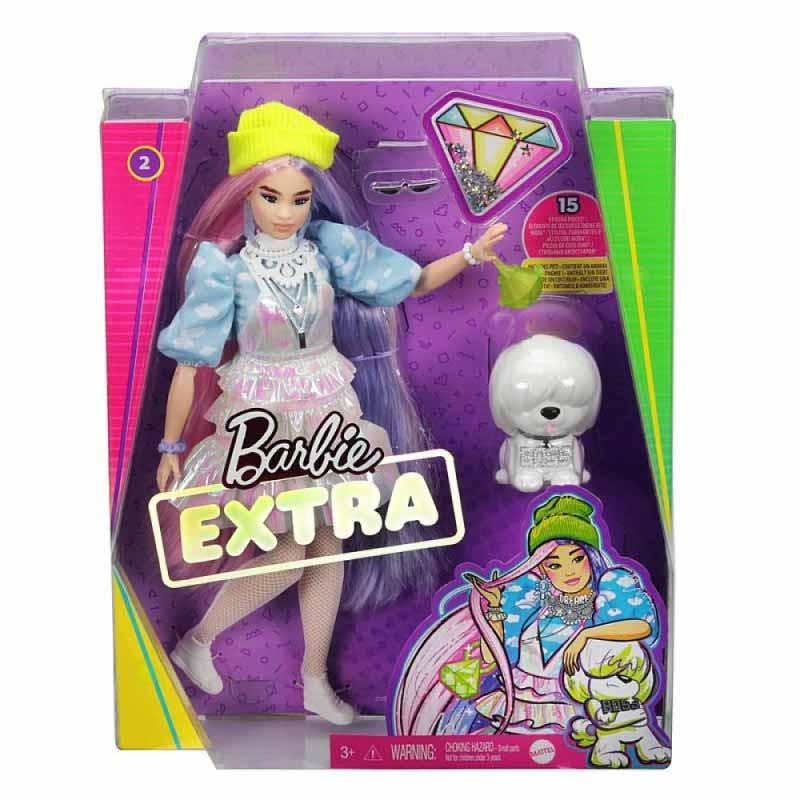 Barbie Extra muñeca com mascota y accesorios