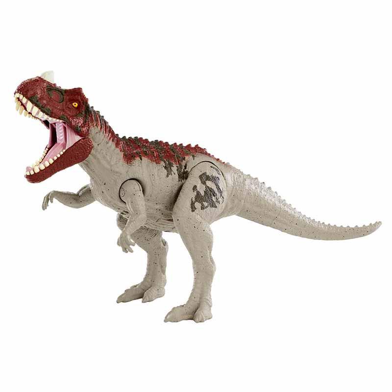 Jurassic World dinosaurio ataque Ceratosaurus