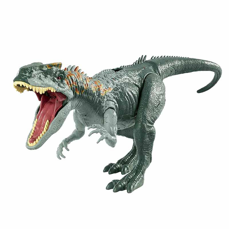 Jurassic World dinosaurio ataque Allosaurus