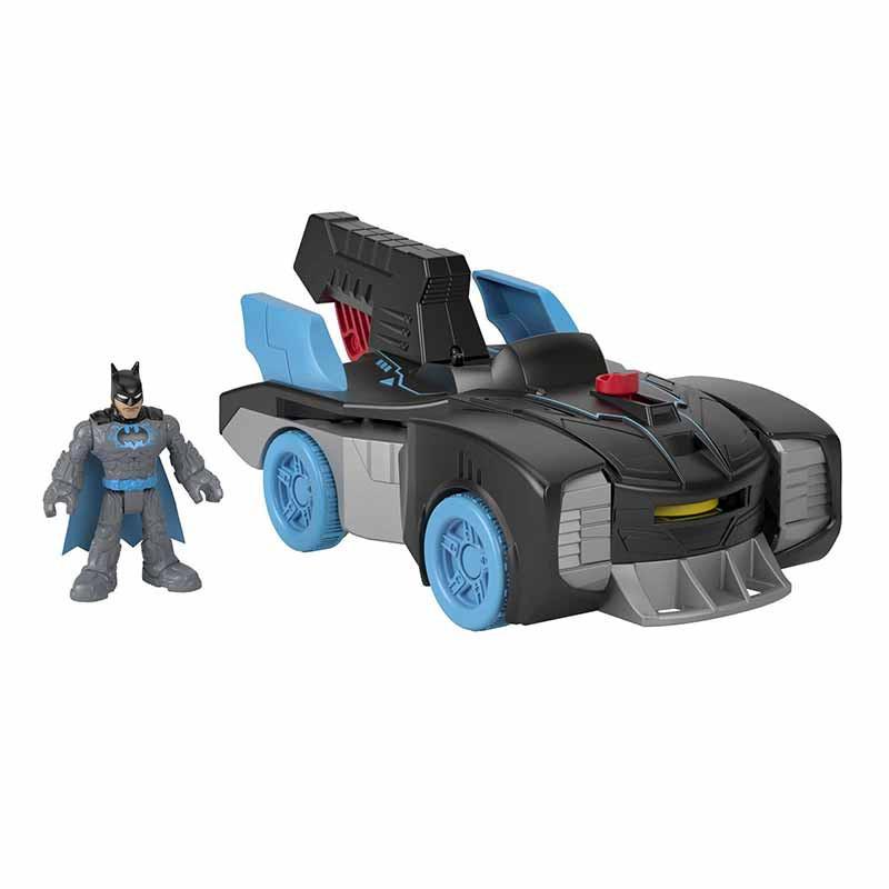 Imaginext DC batmóvil transformable con Batman