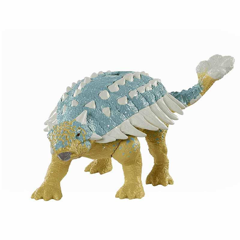 Jurrasic World dinosaurio ataque Ankylosaurus