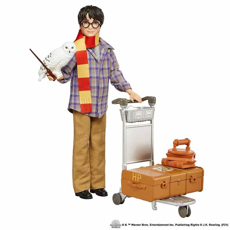 Harry Potte en la plataforma 9 3/4