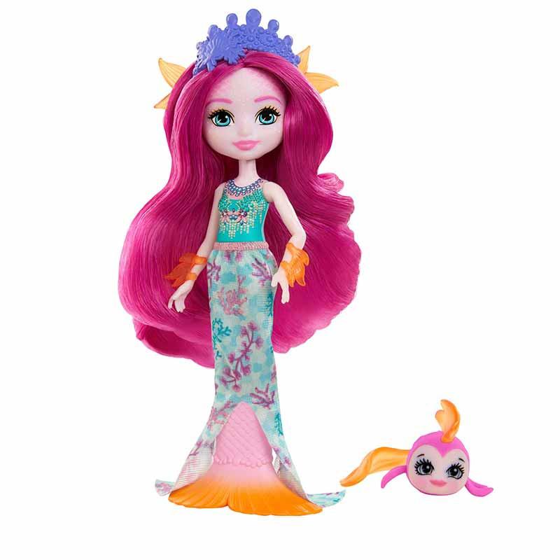 Royal Enchantimals Sirena con pez mascota