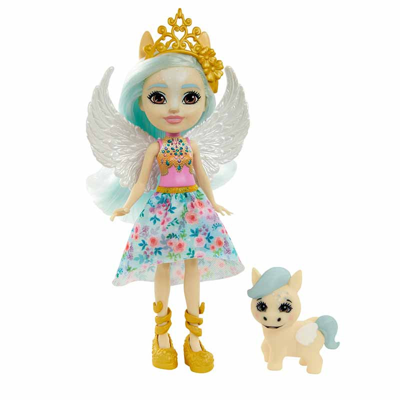 RoyalEnchantimals Muñeca Paolina Pegasus y Wingley
